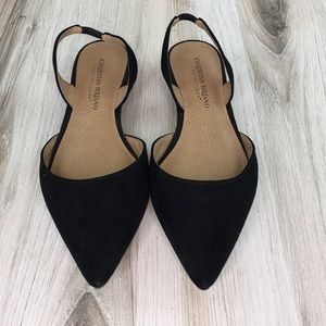 Christian Siriano for Payless Black Pointy Flats